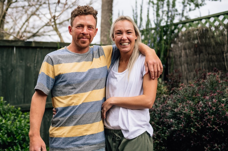 Brittnea Chambers and Cameron Mills shot by Jay french for NZ Herald, 13 Septermber, 2019.